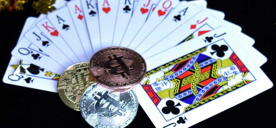 Bitcoin poker site