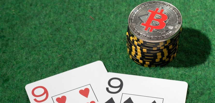 Bitcoin poker online